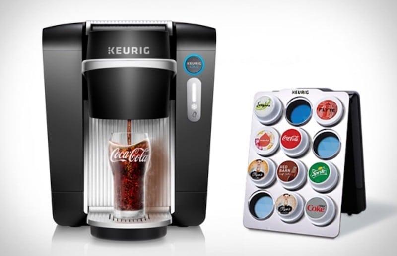 Keurig Kold, machine à capsule pour sodas