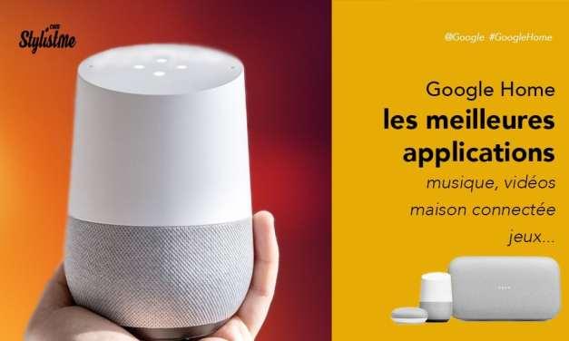 Meilleures applications Google Home Google Assistant et Chromecast