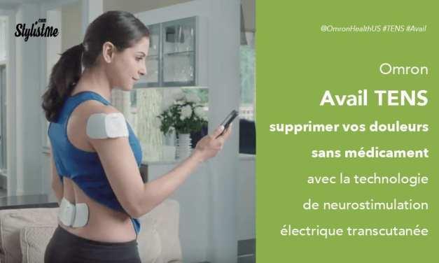 Omron Avail TENS avis test prix de la neurostimulation électrique transcutanée