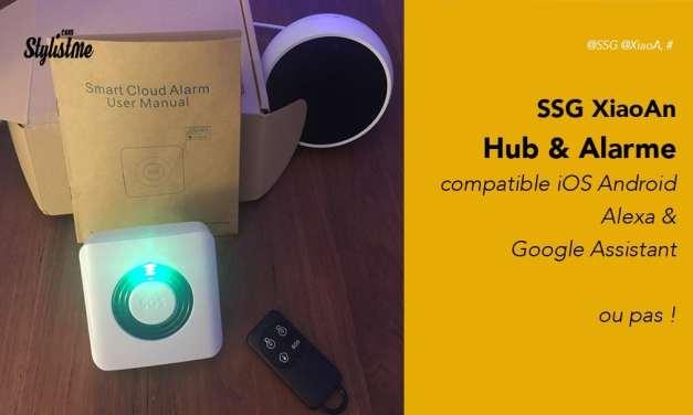 Alarme connectée SSG XiaoAn avis tes prix pour Google Home ou Amazon Echo