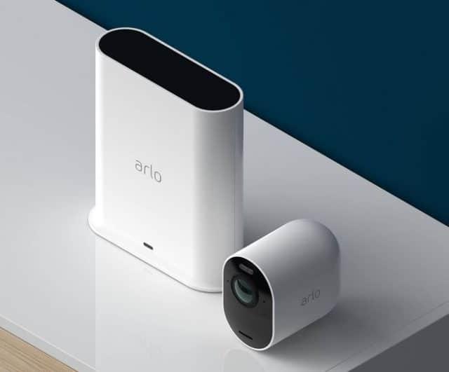 Arlo Security System prix avis test smarthub camera
