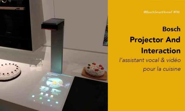 Bosch PAI projecteur interactif pour une cuisine connectée avis prix