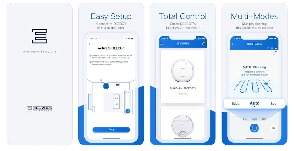 Ecovacs Deebot Ozmo 960 prix avis test app ecovacs home