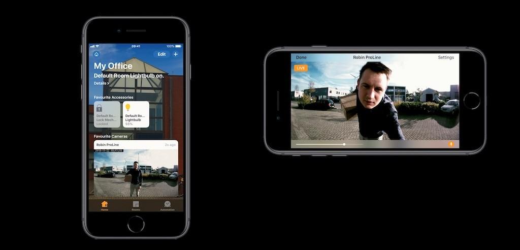 Proline Dorbell prix avis test homekit app