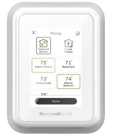 Thermostat Honeywell T9 prix avis test app