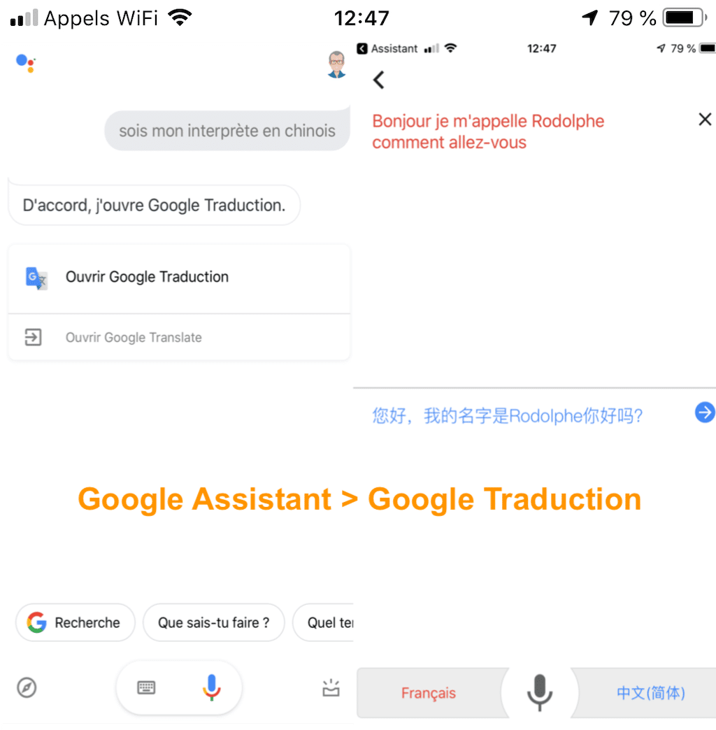 comment utiliser traduction google home google assistant