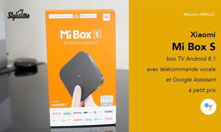 MiBox S Xiaomi 4K avis test prix Android Tv Netflix et Google Assistant