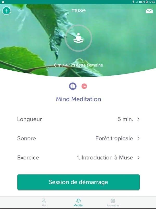 Muse 2 avis test prix bandeau de méditation connecté musique