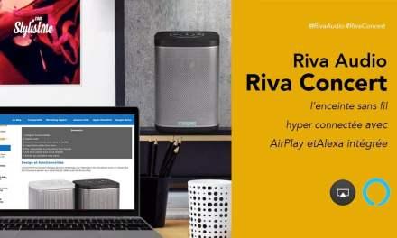 Riva Concert test prix avis enceinte audio connectée avec Alexa et AirPlay