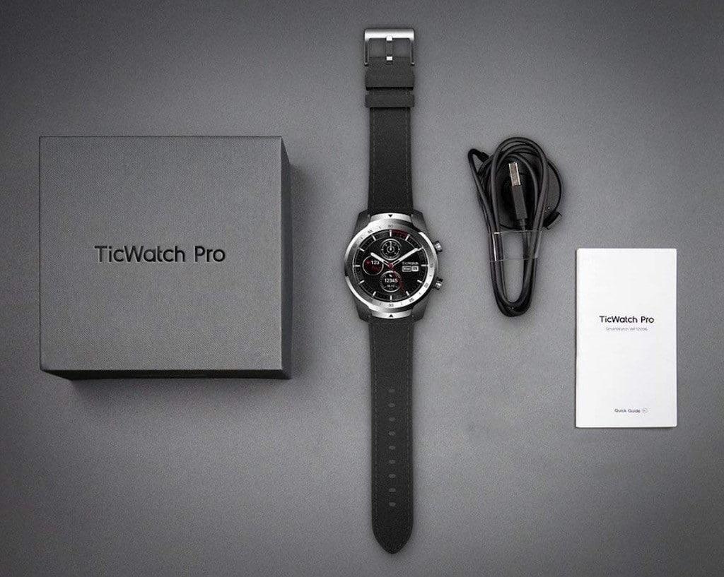 Ticwatch Pro prix avis test unboxing