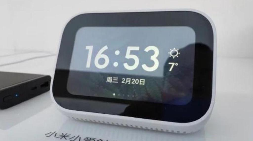 XiaoAI écran tactile avec Google Assistant de Xiaomi desing