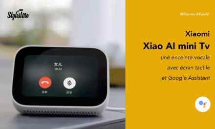 XiaoAI écran tactile avec assistant vocal et mini Tv de Xiaomi
