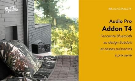 Audio Pro Addon T4 la chaleureuse enceinte Bluetooth scandinave avis