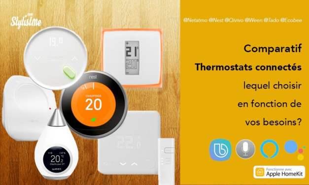 Comparatif thermostat connecté prix test avis lequel choisir
