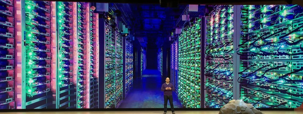 Datacenters Google Stadia