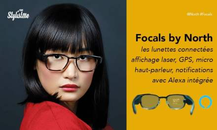 Focals North les meilleures lunettes connectées affichage laser et Alexa