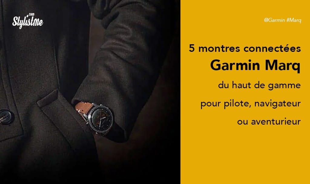 Garmin Marq 5 montres connectées spécialisées haut de gamme