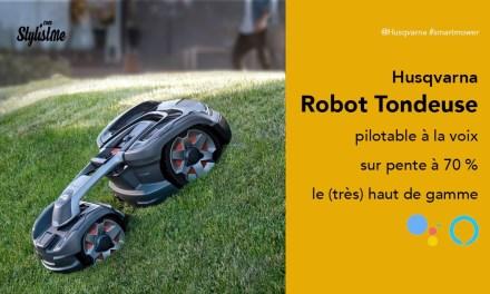 Husqvarna Automower 435X AWD robot tondeuse pilotable à la voix