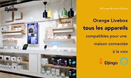 Livebox objet compatible pour la maison connectée d'Orange