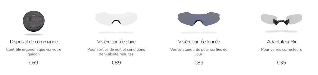 Raptor Everysight accessoires