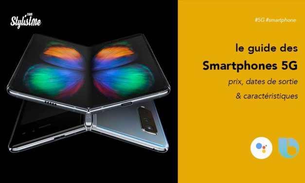 Smartphone 5G prix choix modèles disponibles et sorties en France