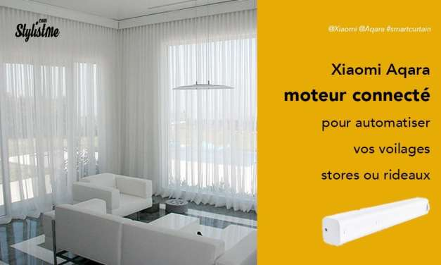 Xiaomi Aqara Smart Curtain Motor 2 un moteur sans fil pour store et rideau