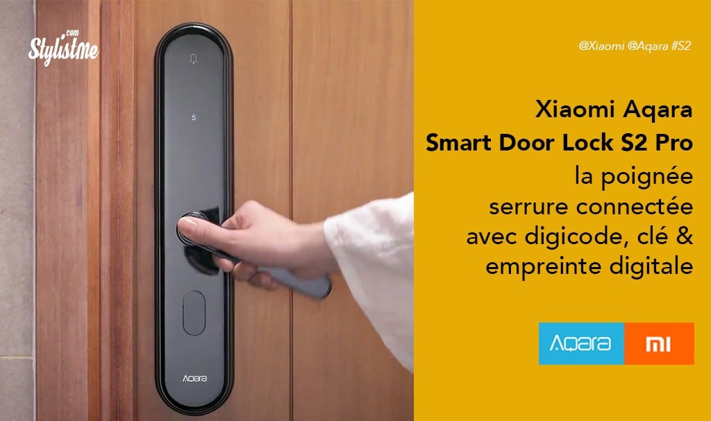 Xiaomi-Aqara-Smart-Door-Lock-S2-Pro-la-poignée-serrure-connectée