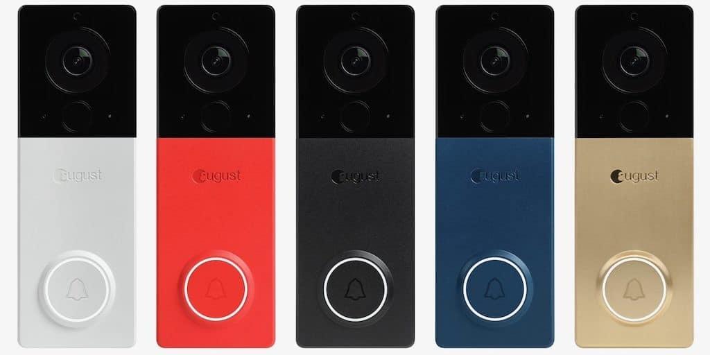 August View doorbell sonnette connecte personnalisation