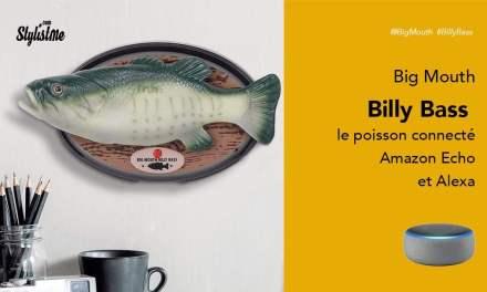 Big Mouth Billy Bass poisson connecté avec Alexa, et ce n'est pas un poisson d'avril !