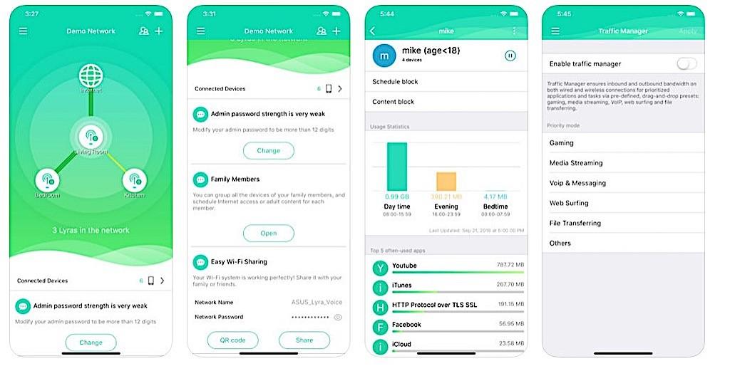 Lyra Voice app iOS ou Android