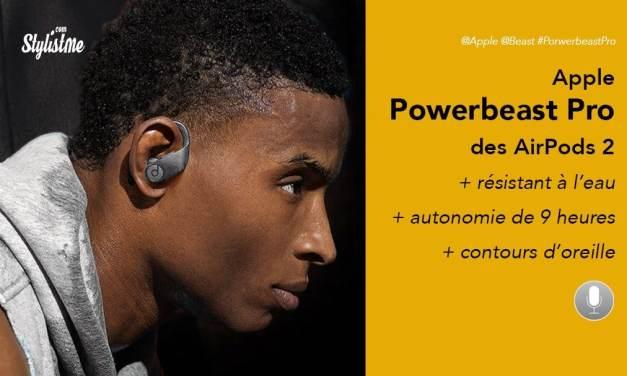 PowerBeats Pro prix avis test des AirPods étanche pour le sport