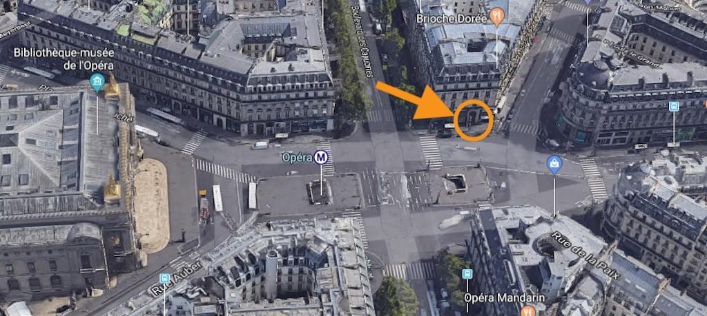 Swissaligner Paris 4 place de l'Opéra