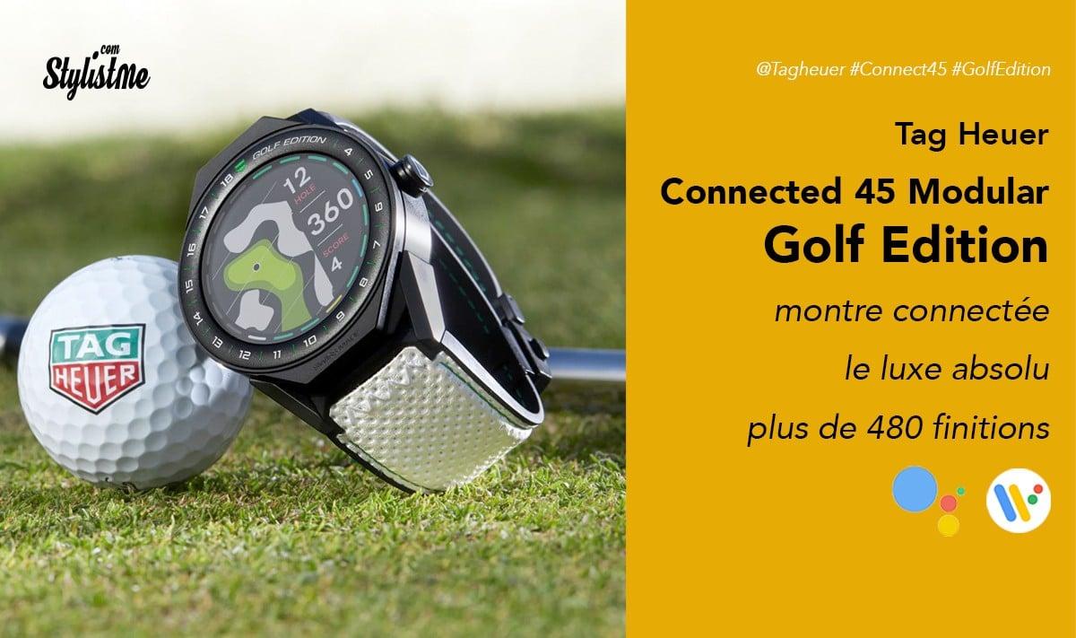tag heuer connected 45 modular golf edition prix avis test. Black Bedroom Furniture Sets. Home Design Ideas
