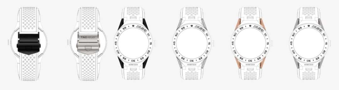 TAG Heuer Connected Modular golf edition boucle corne