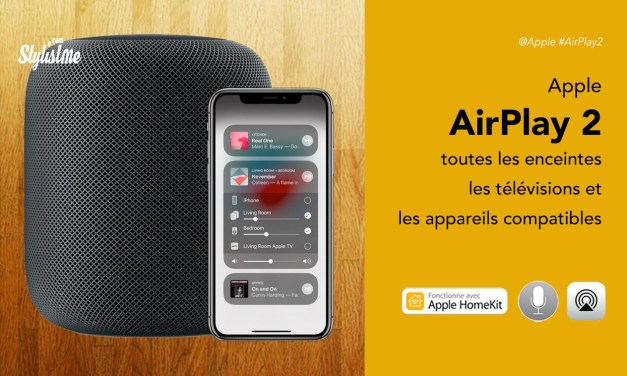 AirPlay 2 appareils compatibles : sources, enceintes, télévisions