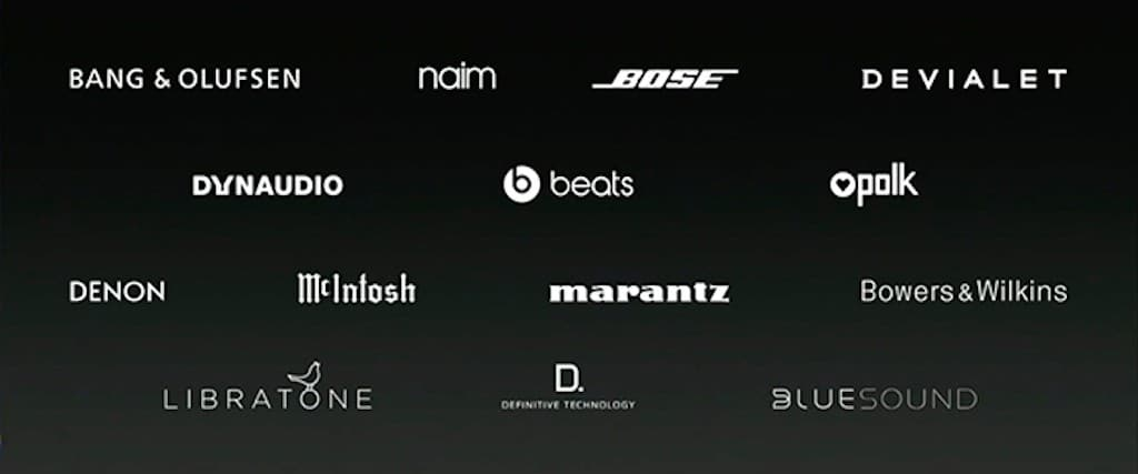 airplay-2-marques enceintes compatibles