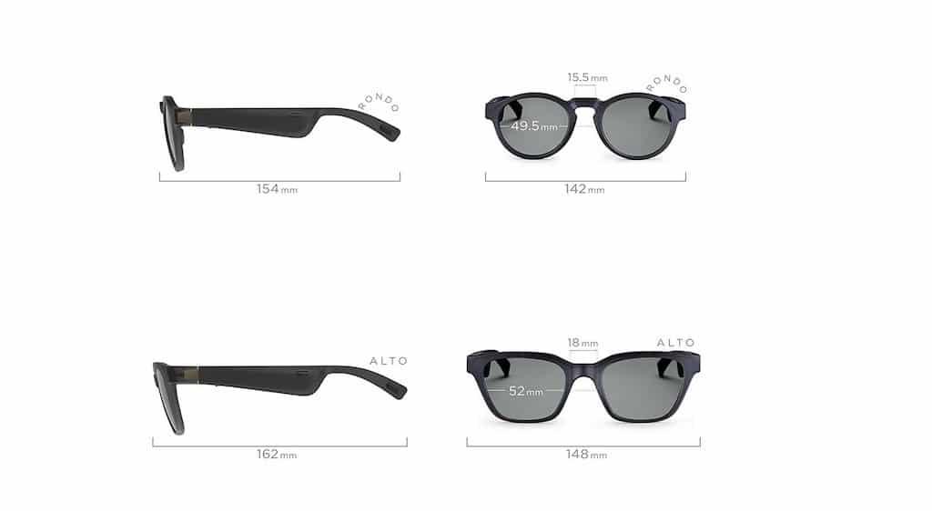 Bose Frames prix avis test dimensions