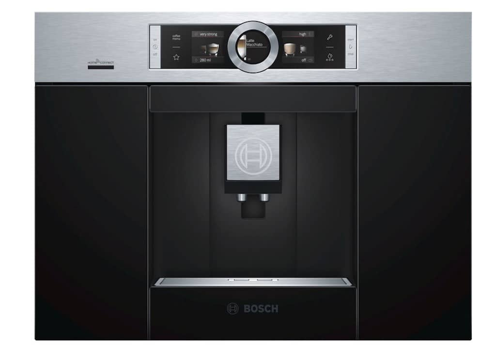 Bosh home connect machine a cafe alexa