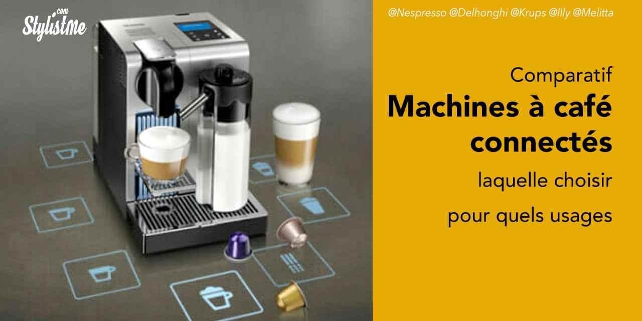 Comparatif machine à café connectée expresso, cappuccino, américano