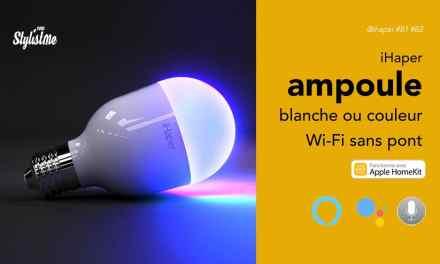 iHaper B1 B2 ampoules connectées sans Hub HomeKit Alexa Google