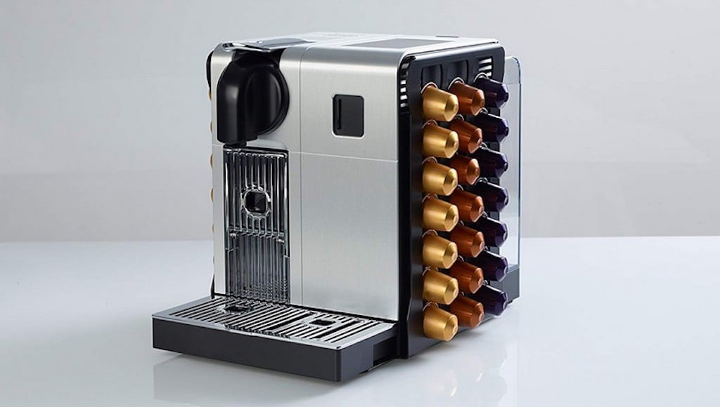 Machine à café connectée Nespresso Lattissima
