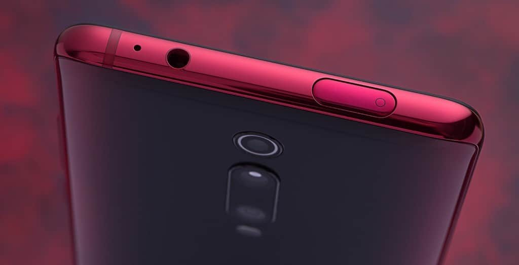 Xiaomi Mi 9T Pro prise jack 3,5 mm