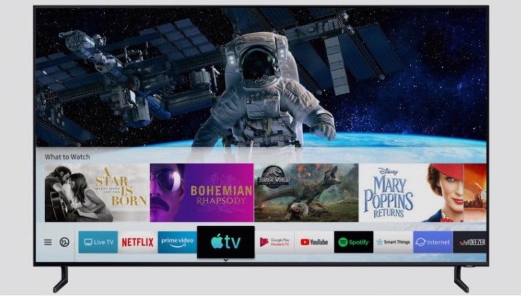 Samsung TV apple TV AirPlay 2