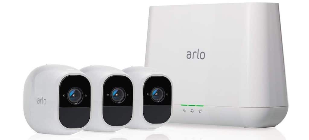 comparatif caméra de surveillance connecté Arlo Pro