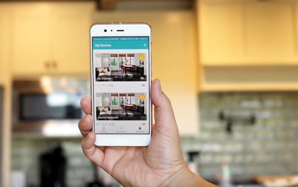 iotty app smart home interrupteur
