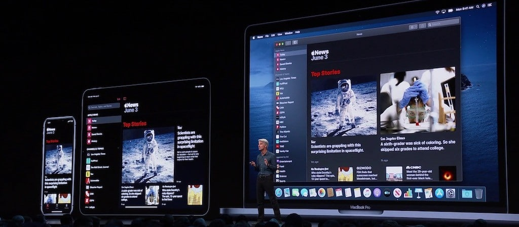 macOS Catalina app compatible iPad iPhone