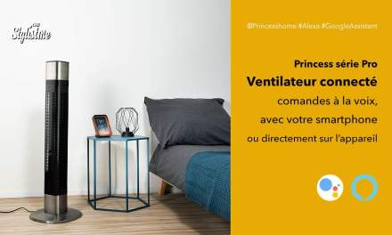 Ventilateur connecté Princess Pro compatible Google Home et Amazon Echo