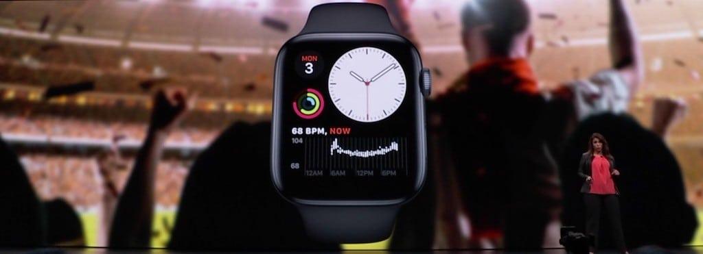 watchOS 6 app santé