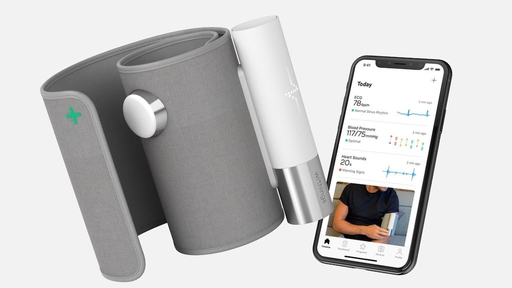 BPM Core application Withings Health Mate