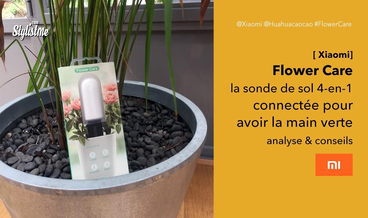 Flower Care test avis prix sonde sol connectée